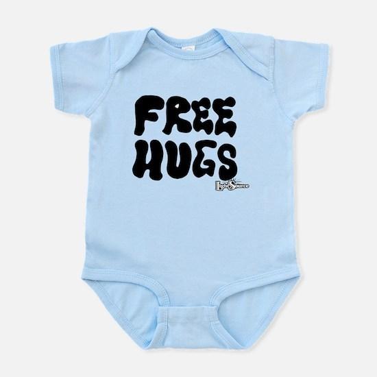 Free Hugs logo Infant Bodysuit