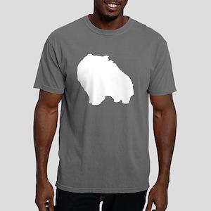 pom-white Mens Comfort Colors Shirt