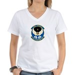 Angels Emblem Women's V-Neck T-Shirt