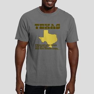 TexasMessed2 Mens Comfort Colors Shirt