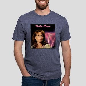 2-PalinTime1a Mens Tri-blend T-Shirt
