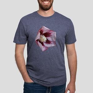 hibiscus pink1 d Mens Tri-blend T-Shirt