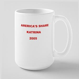 Large Mug-AMERICA'S SHAME