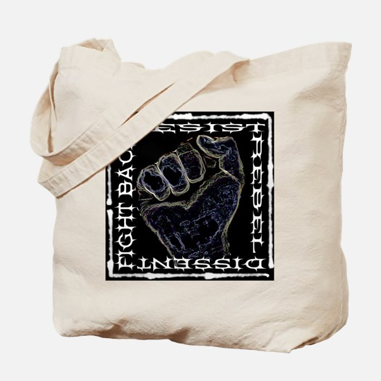 """Resistance Fist"" Tote Bag"
