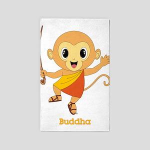 Buddha Monkey™ 3'x5' Area Rug