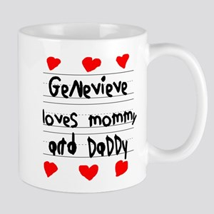Genevieve Loves Mommy and Daddy Mug