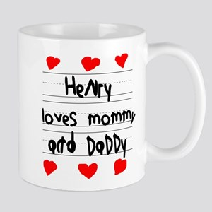 Henry Loves Mommy and Daddy Mug
