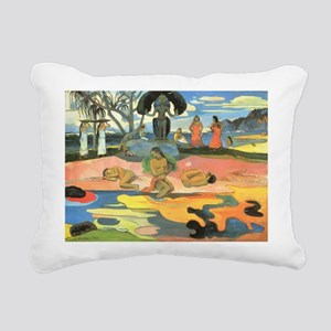 Paul Gauguin Rectangular Canvas Pillow