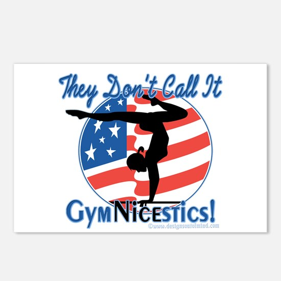 GymNICEstics Postcards (Package of 8)