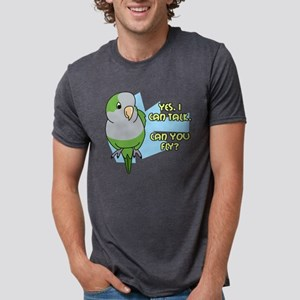 quaker_talk Mens Tri-blend T-Shirt