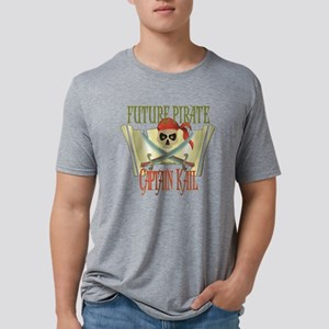 PirateKAIL Mens Tri-blend T-Shirt