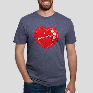 love05 Mens Tri-blend T-Shirt