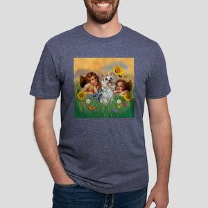 CLK-Cherubs-Yorktess Mens Tri-blend T-Shirt