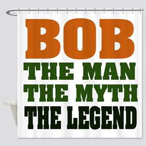 Bob The Legend Shower Curtain