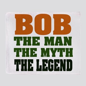 Bob The Legend Throw Blanket