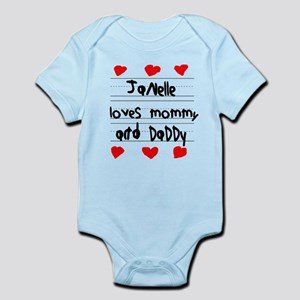 Janelle Loves Mommy and Daddy Infant Bodysuit