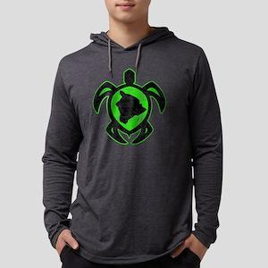 big island turtle Mens Hooded Shirt
