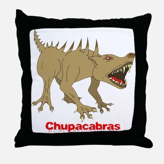 Chupacabras 2 Throw Pillow
