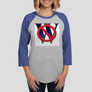 no w 111404 copy Womens Baseball Tee