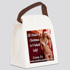 All I Want For Christmas Is A Naked Lady Canvas Lu