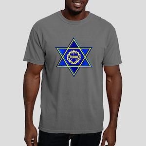 YESHUA STAR  BLACK Mens Comfort Colors Shirt