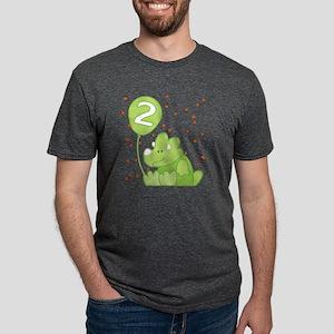 bd_dinoapp_2 Mens Tri-blend T-Shirt