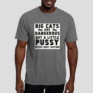 Big Cats are Dangerous,  Mens Comfort Colors Shirt