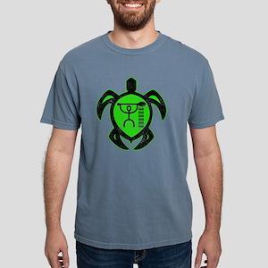 hawaiian turtle paddler Mens Comfort Colors Shirt