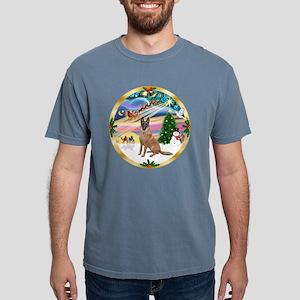 W-XmasMagic-BelgianMalin Mens Comfort Colors Shirt