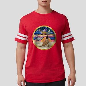 W-XmasStar-BelgianMalinois1r.p Mens Football Shirt