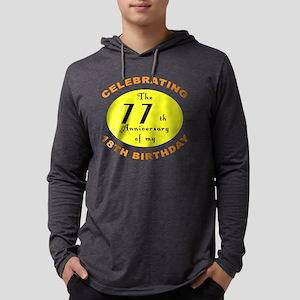 anniversay 95 Mens Hooded Shirt