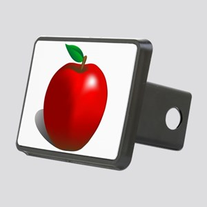 Red Apple Fruit Rectangular Hitch Cover