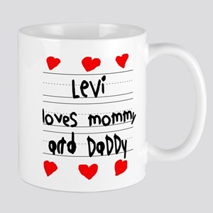 Levi Loves Mommy and Daddy Mug