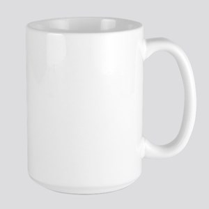 It's hard being so foxy Large Mug