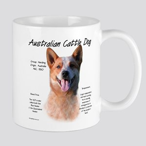 Cattle Dog (red) 11 oz Ceramic Mug