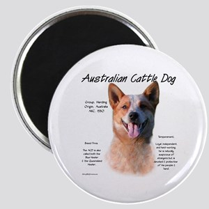 Cattle Dog (red) Magnet