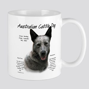 Cattle Dog (blue) 11 oz Ceramic Mug
