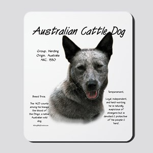 Cattle Dog (blue) Mousepad