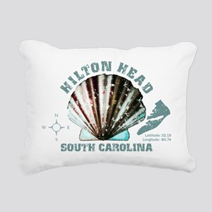 Hilton Head South Caroli Rectangular Canvas Pillow