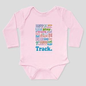 Track Long Sleeve Infant Bodysuit