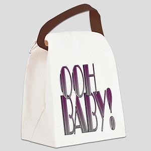 OOH BABY!- PURPLE GRADIENT copy Canvas Lunch B