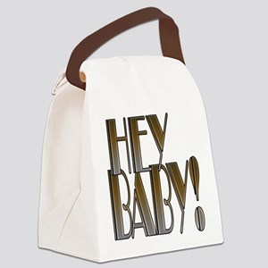 HEY BABY! Canvas Lunch Bag
