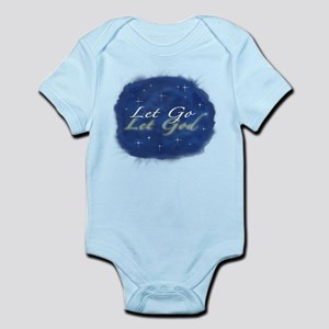 Let Go and Let God w/ Stars Infant Bodysuit