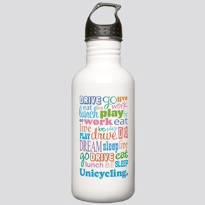 Unicycle Stainless Water Bottle 1.0L