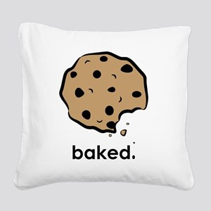 Baked. Square Canvas Pillow