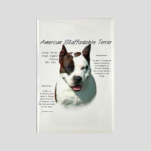 AmStaff Terrier Rectangle Magnet