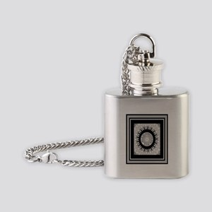Cherokee Nation Flask Necklace