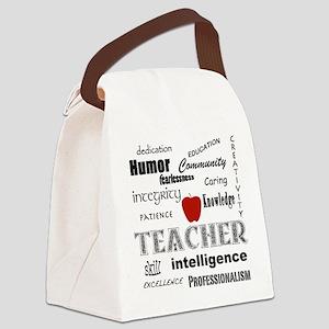 Teacher Pride Canvas Lunch Bag