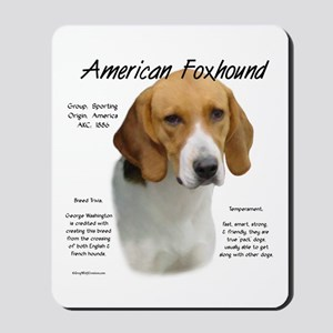 American Foxhound Mousepad