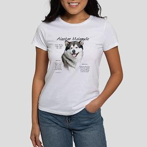 Alaskan Malamute Women's Classic White T-Shirt
